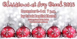 Christmas at Ivy Creek 2016