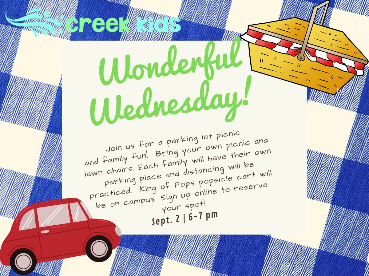 Wonderful Wednesday Parking Lot Picnic